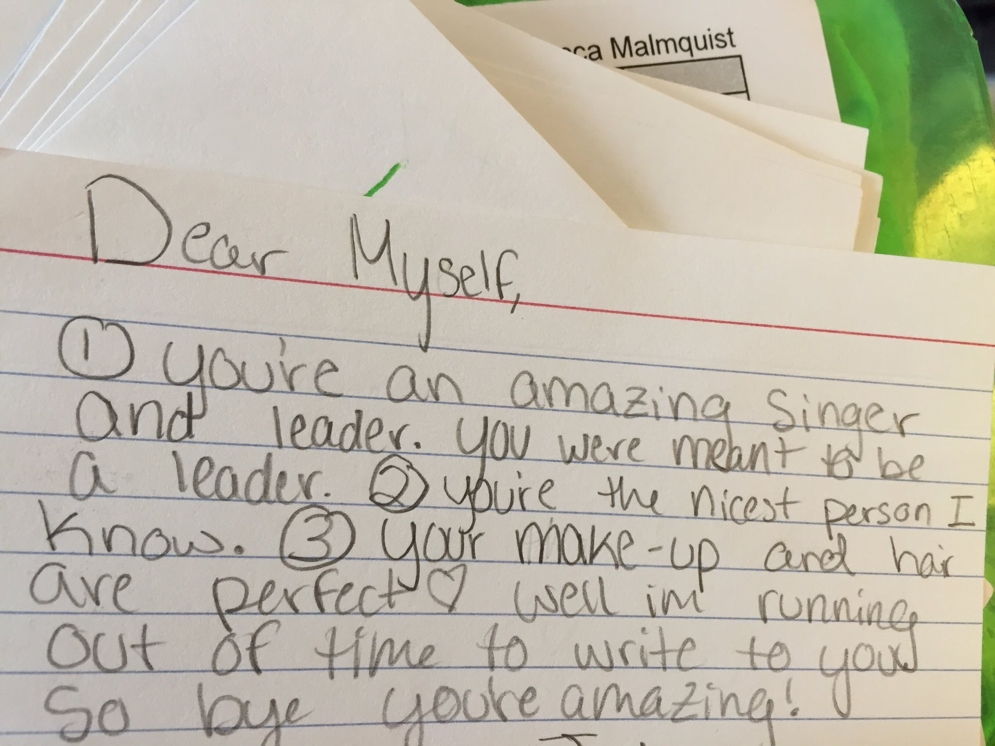 How To Write An Affirmation Letter