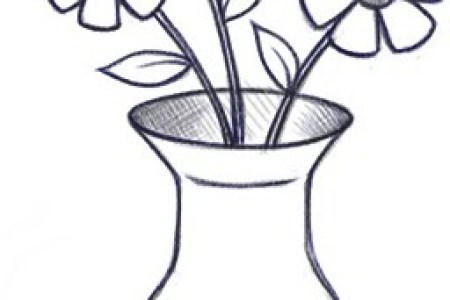 Full Hd Pictures Wallpaper How To Draw A Flower Vase