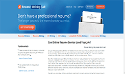 best resume services review online