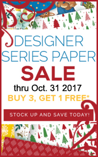 Designer Series Paper Sale by Stampin Up