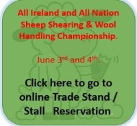 Sheep Shearing  - Trade Stand / Stall    Reservation