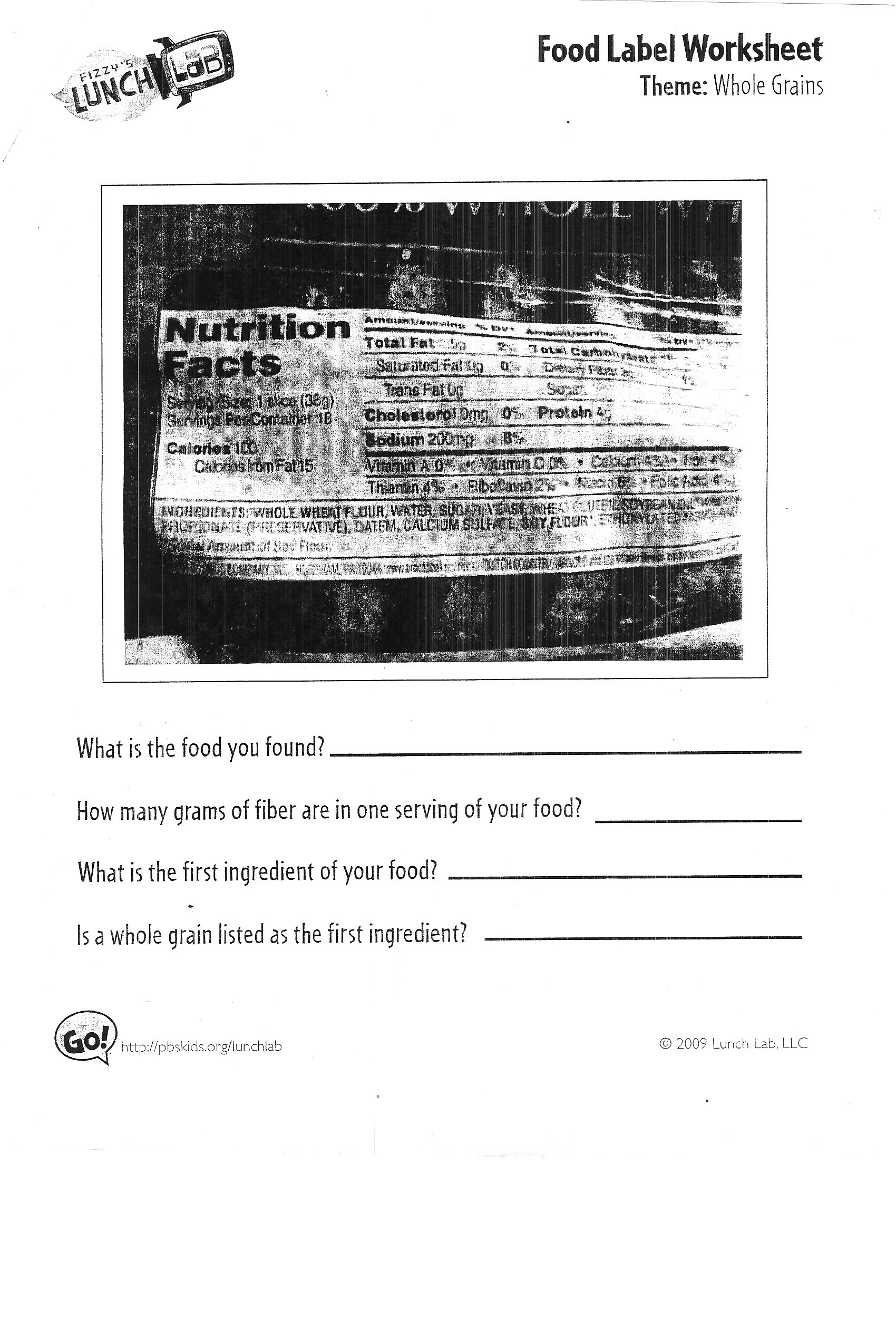 Worksheet Food Label Worksheet Worksheet Fun Worksheet Study Site