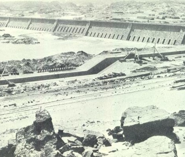 The Aswan Low Dam
