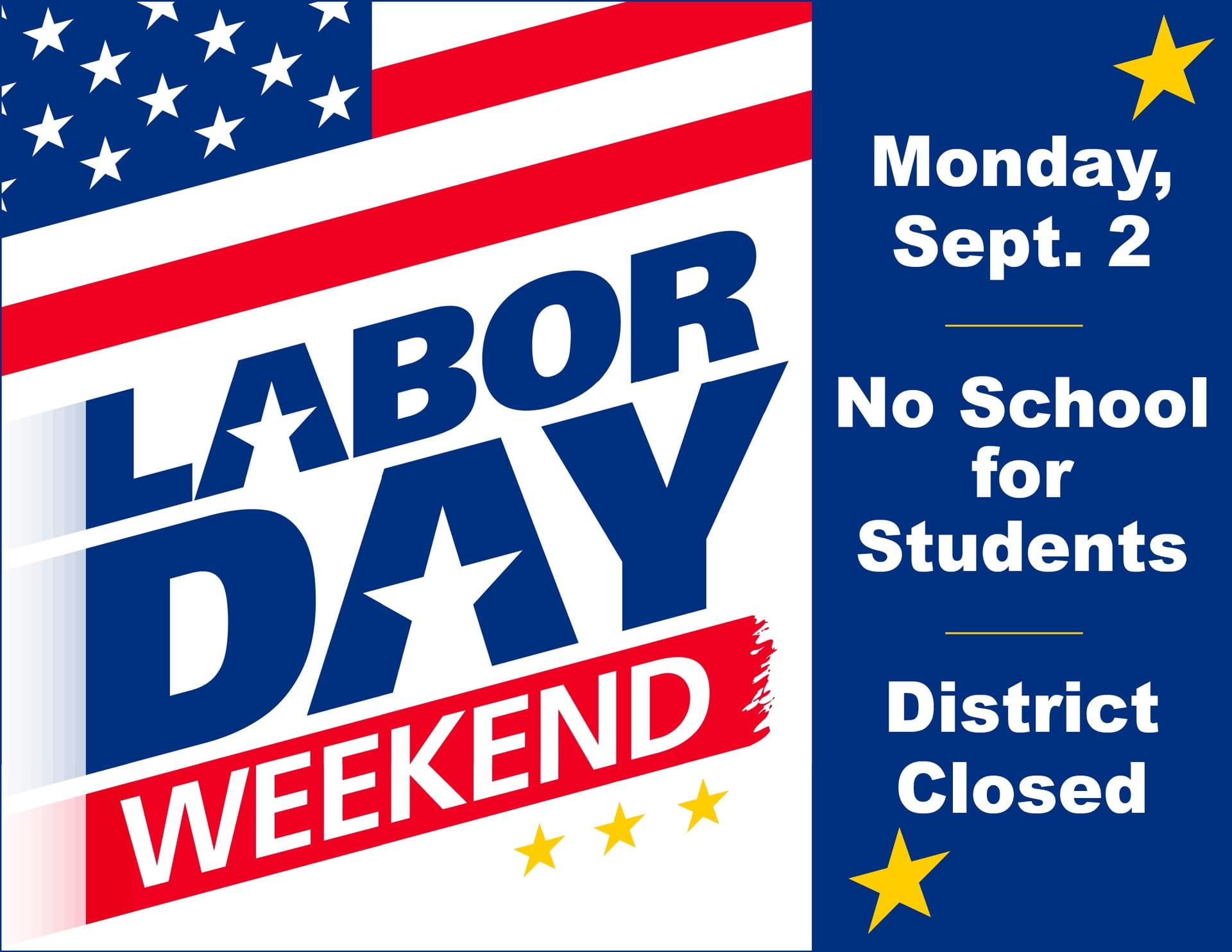 No School On Labor Day