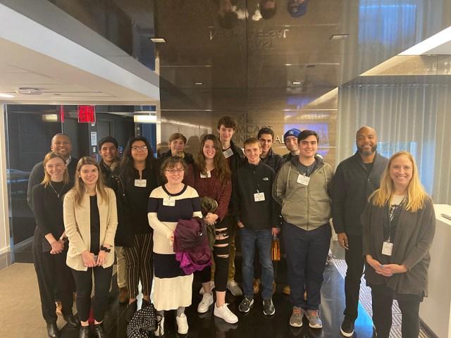 students at MSNBC