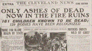collinwwood fire headline only ashes noise
