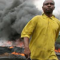 Label Talk: George Osodi's Oil Spill Near Farm Land Ogoni