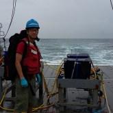 Weiyi on R/V Atlantic Explorer