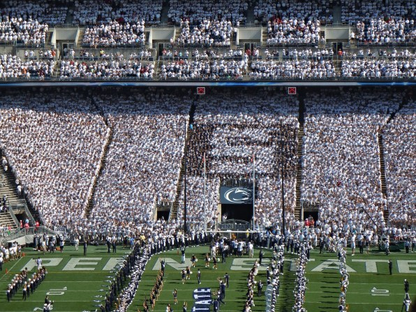 Image result for psu football student section
