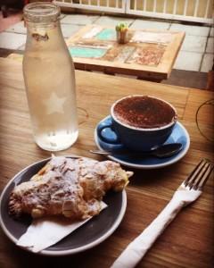 Mocha & Almond Croissant on James Street