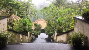 Entrance to the Hanging Gardens of Bali