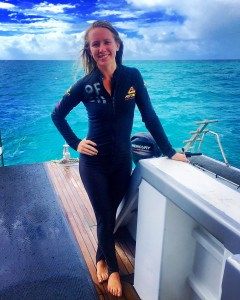 Enjoying the Great Barrier Reef