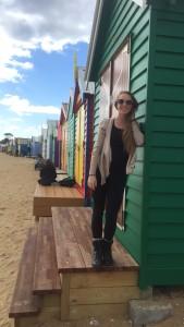 Row of Brighton Beach huts
