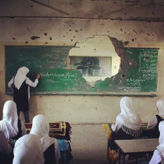 The First Day of School in Palestine is Unlike Any Other