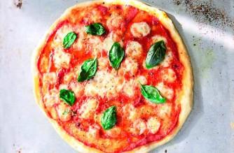 Afbeeldingsresultaat voor pizza margherita italian flag