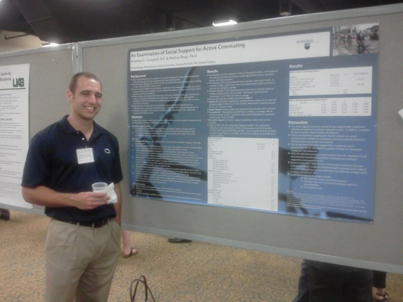 ... at the 2012 Society of Behavioral Medicine conference in New Orleans