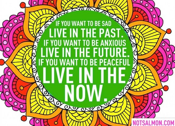 Image result for Living in the now