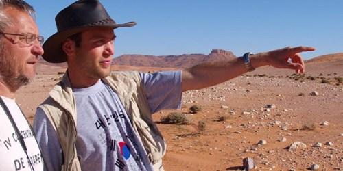 Summer in the Sahara: Students join professor on dinosaur hunt