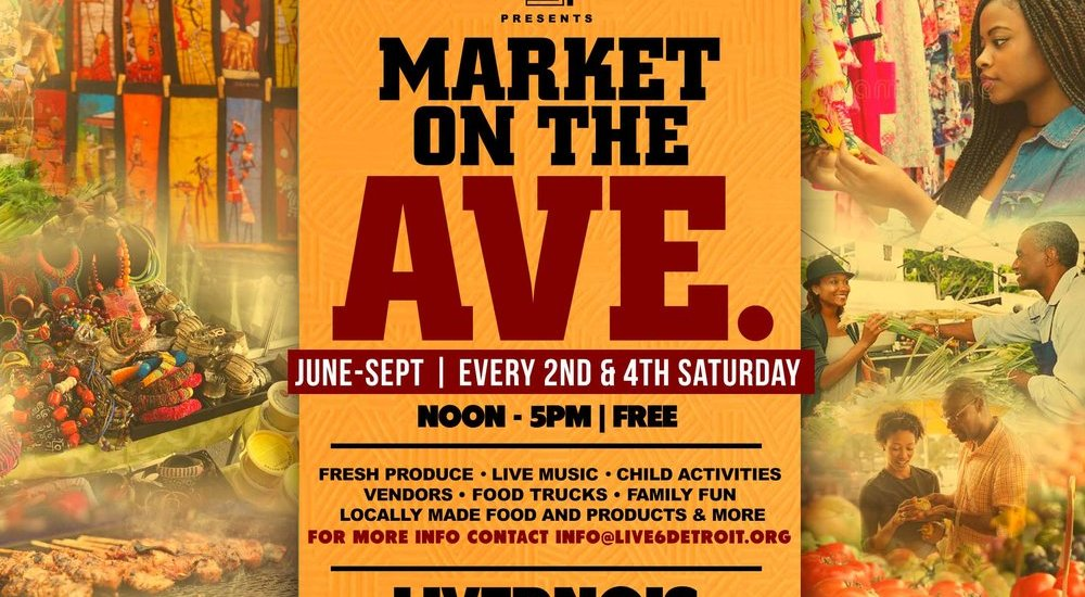 Check Live6's Market on the Ave!