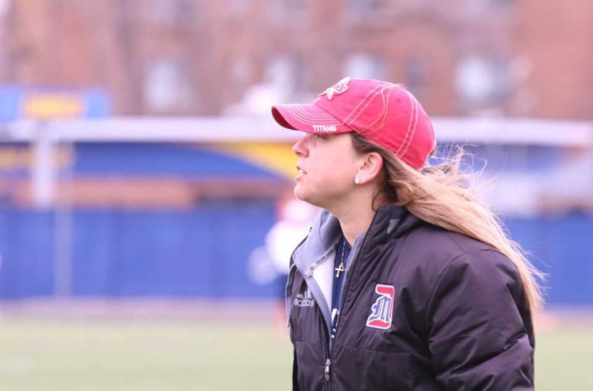 Magazine features women's lacrosse coach Callahan
