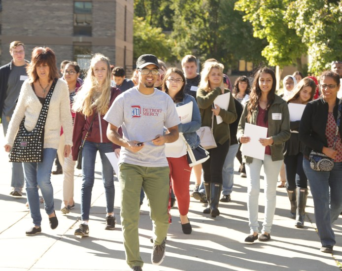 Admissions ready: Visit Day, Feb. 2