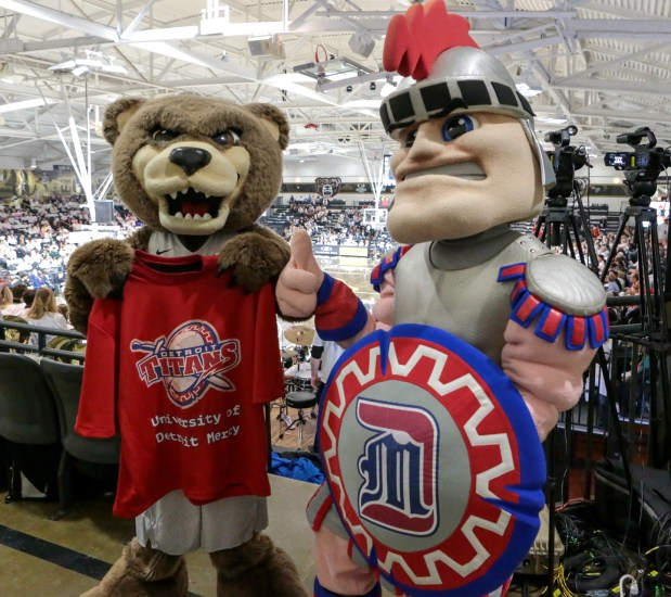 Help Detroit Mercy beat Oakland during Donor Challenge, Feb 11-15