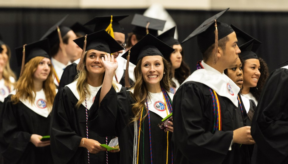 Detroit Mercy Commencement – that's a wrap!