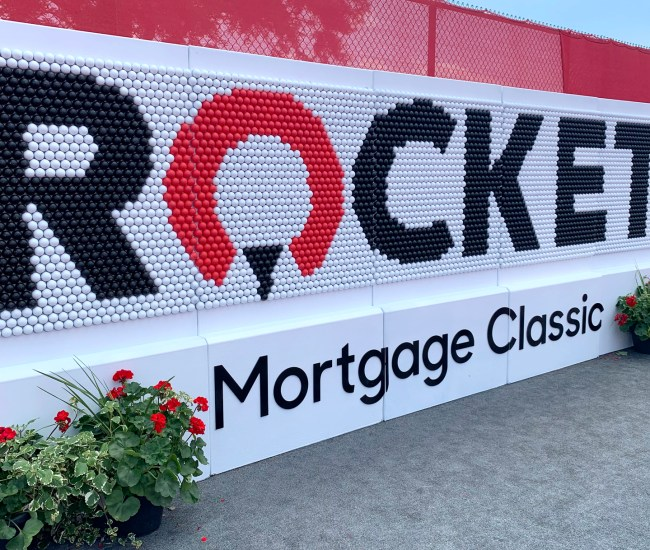 Detroit Mercy at the Rocket Mortgage Classic