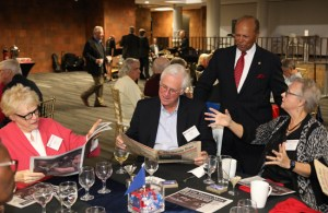 Reunion of Class of 1968 with Detroit Mercy President Antoine M.Garibalid.