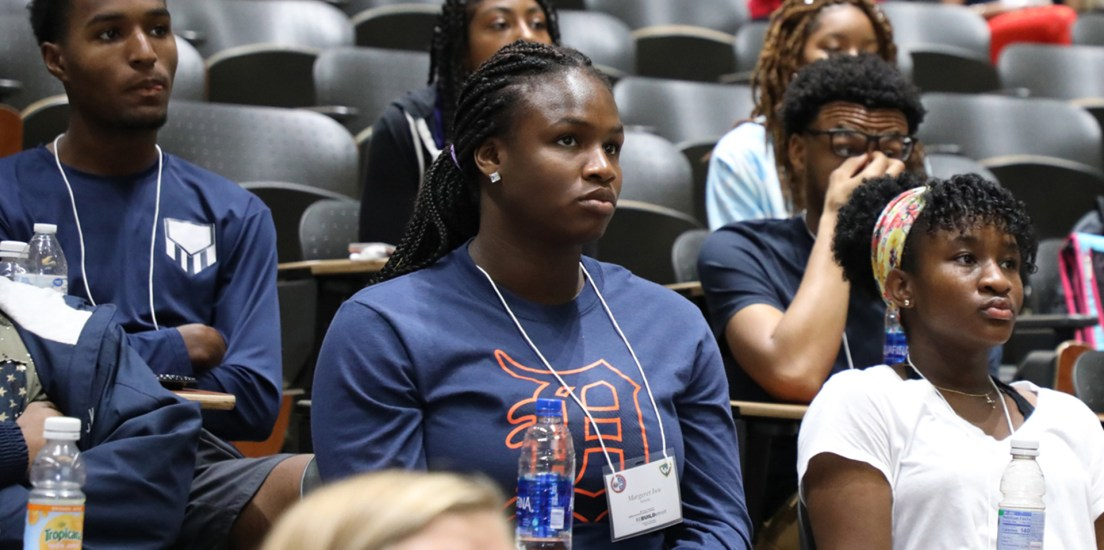Detroit Mercy's ReBUILDetroit student ready to work toward her dreams
