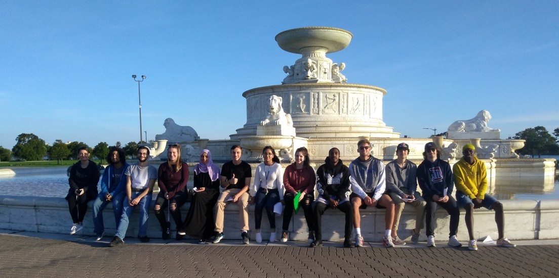 "Students explore ""geography and borders"" on Belle Isle"