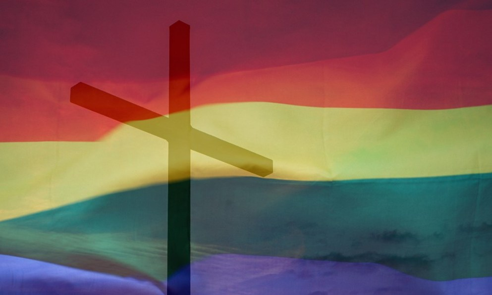LGBTQ+ community support with faith in God.