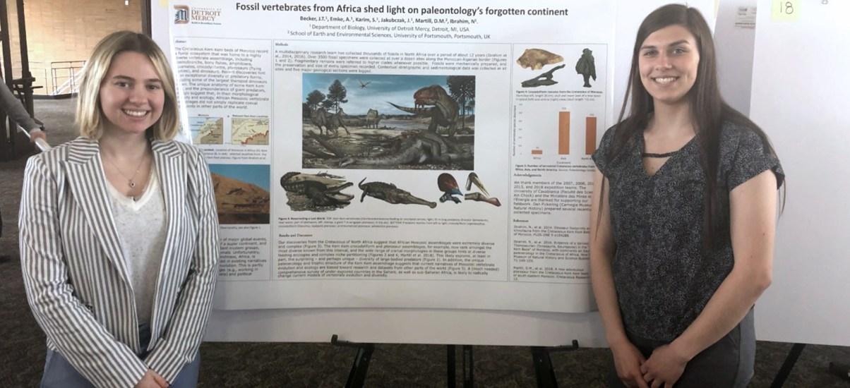 Detroit Mercy student co-authors groundbreaking Spinosaurus paper