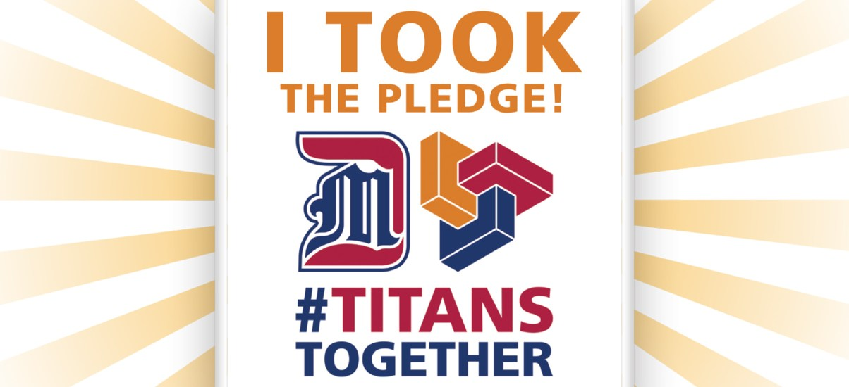 Titans Together: Mask up and take the pledge