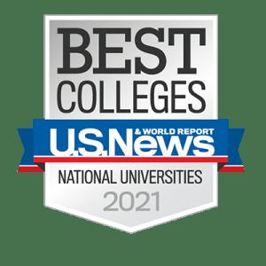 2021 U.S. News & World Report badge