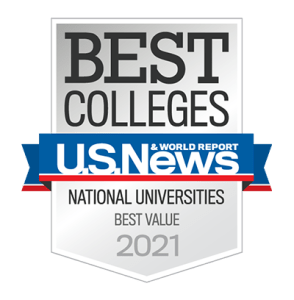 2021 U.S. News & World Report Best Value badge
