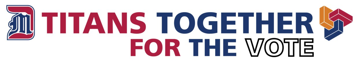 Titans Together For the Vote logo