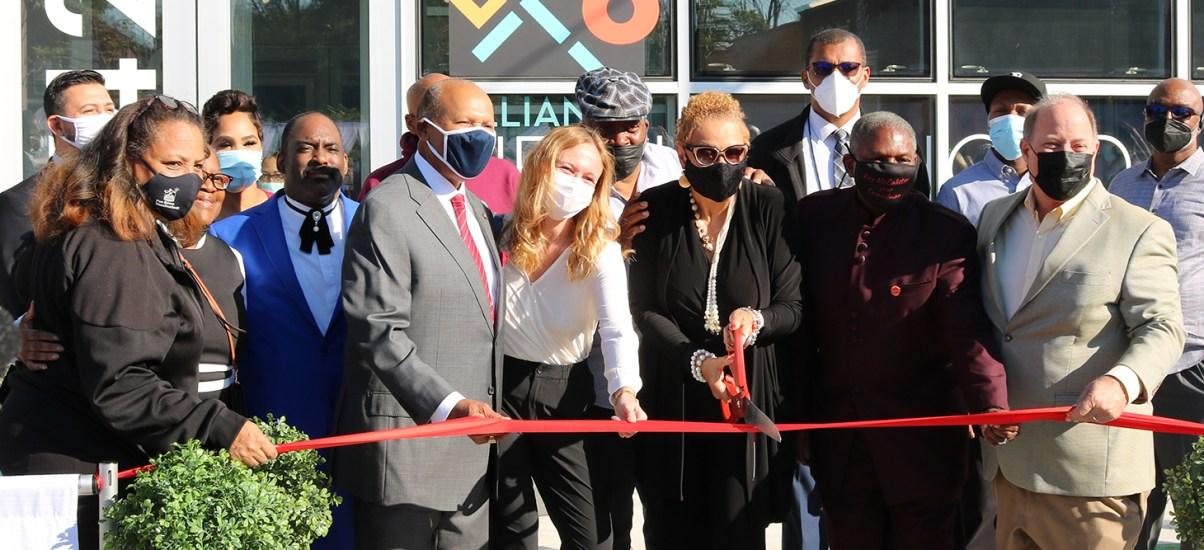 President Garibaldi helps unveil Live6 Alliance work in ribbon-cutting ceremony