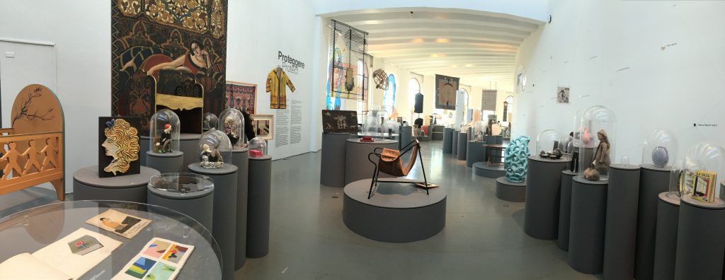 View of second part of exhibit