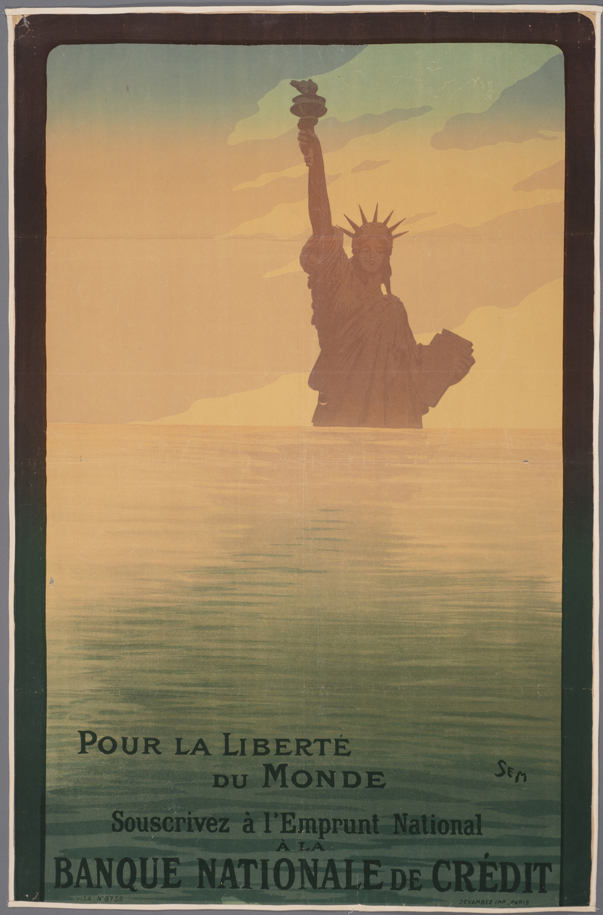Explore World War I Propaganda Posters Online