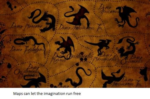 P65 Imagination Dragon Map Thea 228 The Cartographic