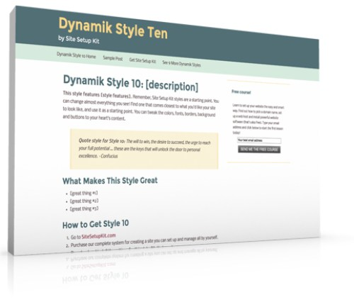 Dynamik Style 10