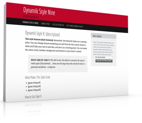 Dynamik Style 9
