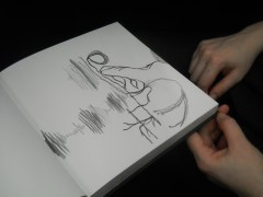 A jointly-made sound-drawing done on the train to Gloucester - our first collaborative act of the day.