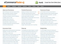 ecommerce radar