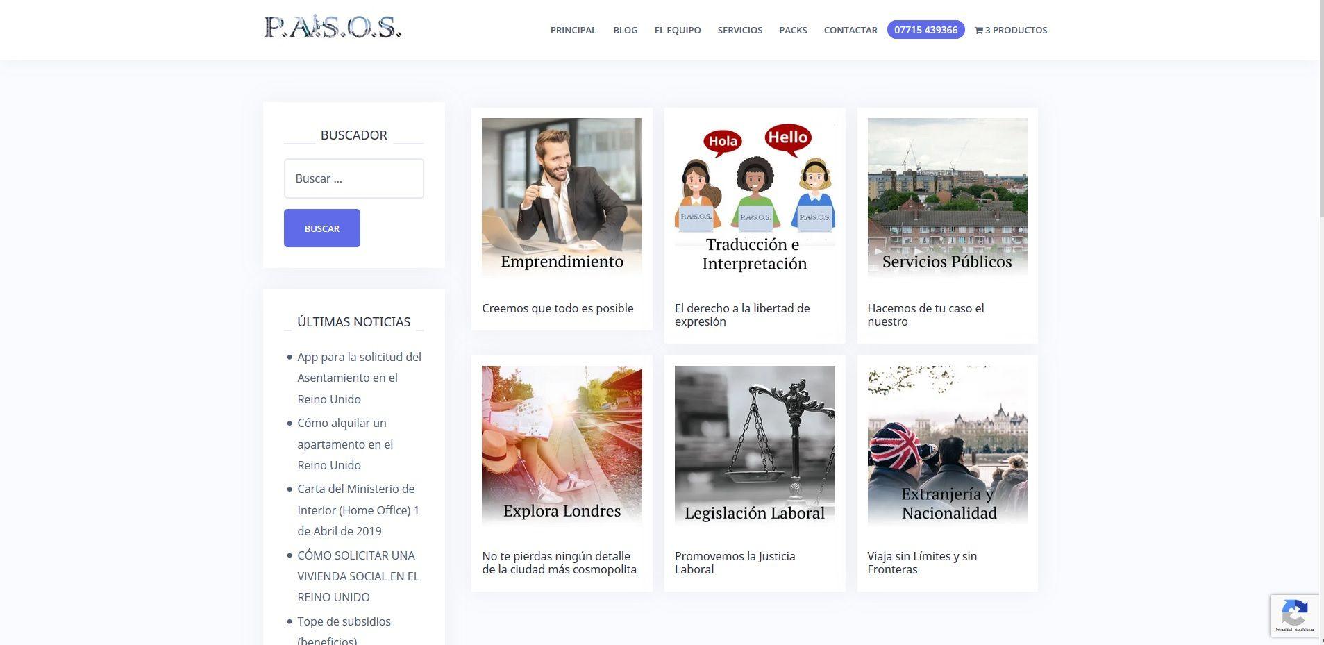 Consultas Pasos wordpress