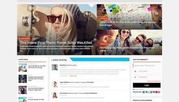 15+ Best WordPress Social Network Themes for 2019 - Siteturner