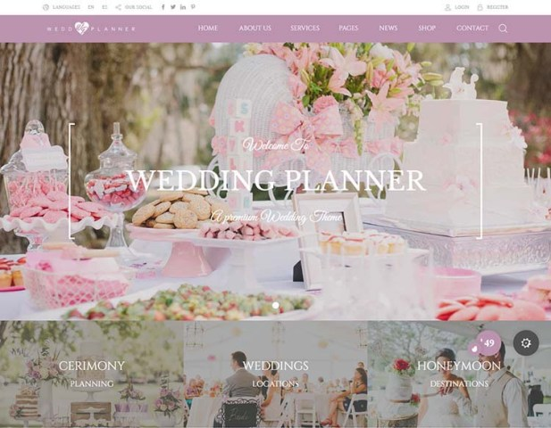 8  Best Wedding Planner WordPress Themes for 2018   Siteturner Wedding Industry