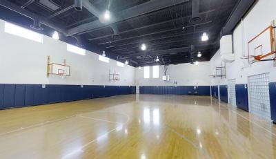 Collegiate Village Gymnasium 3D Model
