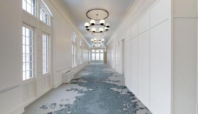 Hotel Henry Echelon Corridors 3D Model